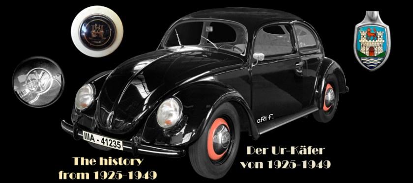 VW Käfer Historie 1925-1949