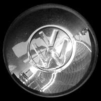 VW Radkappe bis 1949