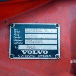 Volvo 144 Typenschild mit Color Nr. 113-1 für Rotorange