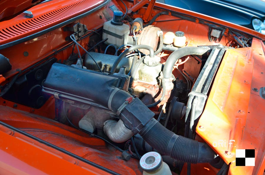 Volvo 144 mit Motor B20 B