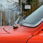 Volvo 144 mit Regenlaufrinne