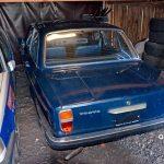 Volvo 144 von 1968 noch mit nach aussenstehenden Türgriffen und Hochkant-Rücklichtern
