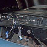 Volvo 144 von 1968 und Bandtachometer und ohne Mitelkonsole