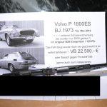 Volvo P1800 ES verkaufen auch im Tausch mit Porsche 356