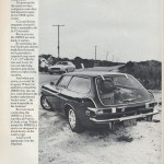 Volvo P1800 ES advert in 1972