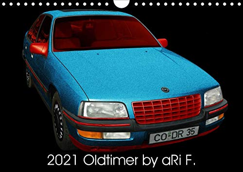 2021 Oldtimer by aRi F. (Wandkalender 2021 DIN A2 quer) 978-3672443894