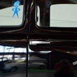 VW Ur-Käfer mit Kühlschrankgriffe die erst 06.08.1959 durch feststehende Griffe mit separater Drucktaste ersetzt werden
