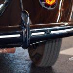 VW Ur-Käfer noch mit Sicken in der Stoßstange uund Reifengröße 125R16