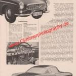Volvo P1800 Bericht Volvo Werbung von 1960