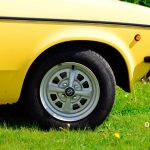 Opel Kadett C Caravan Detailfoto auf original Opel-Felgen