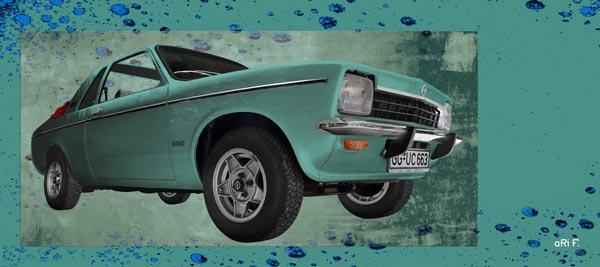 Opel Kadett C Aero Poster