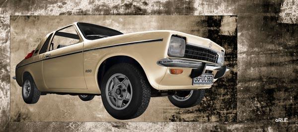 Opel Kadett C Aero antique Poster