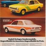 Opel Kadett C Swinger - Reklame Werbung in AMS 5/1975 Seite 23