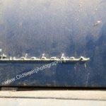 Studebaker Champion Logo auf Motorhaube