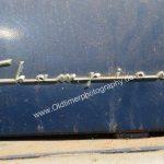 Studebaker Champion Logo auf Motorhaube rechte Seite