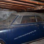Studebaker Champion Scheunenfund nach mind. 10 Jahren Stillstand dicht mit Staub bedeckt