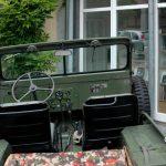 Willys Jeep M38 A1 Interieur und Instrumententafel