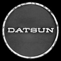 Logo Datsun auf Lenkrad von Datsun Sports 1600