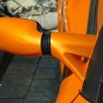 Lotus Elise S2 Aussenspiegel mit aerodynamisch, luftdurchlässigem Bauansatz