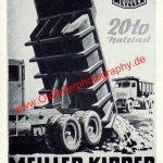 Meiller Kipper Werbung 1956