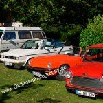 7. Kressbronn Classics mit zwei ausgewisenen Cabrios Golf 1 und Triumph Spitfire 1500