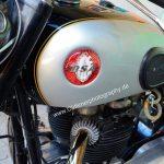 BSA Motorrad Benzintank