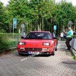 Ferrari Mondail t bei der Einfahrt zur 7. Kressbronn Classics
