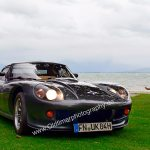 Marcos GT beim shoting am Bodenseestrand.
