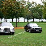 Mercedes-Benz W 108 280 SE und BMW 3er Cabriolet