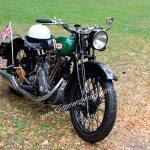 Motorrad B.S.A., Baujahr ???