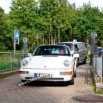 Porsche 911 bei der Einfahrt zur Kressbronn Classics 2020