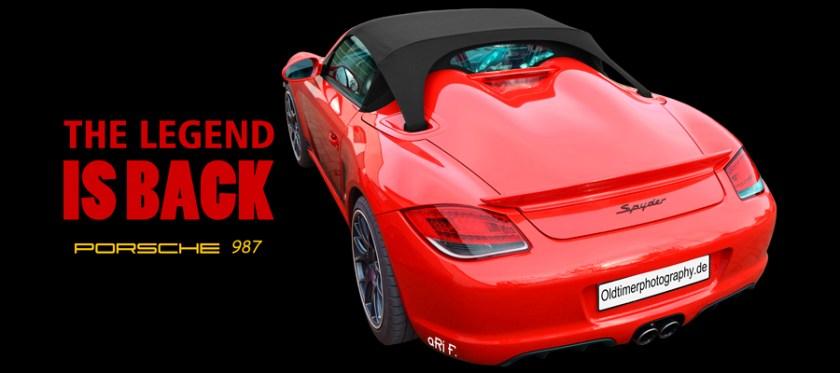 Porsche Boxster Spyder (987) Poster by aRi F.