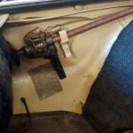 VW 411 Benzintank im vorderen Kotflügel integriert