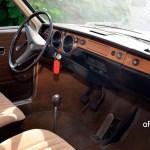 VW 411 Interieur mit Stoffsitzen