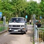 VW Bus t3 syncro bei der Einfahrt zur KressbronnClassics 2020