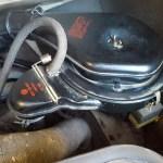 VW Luftfilterkasten für Flachmotor Typ 4 022 129 607 Knecht LB 666