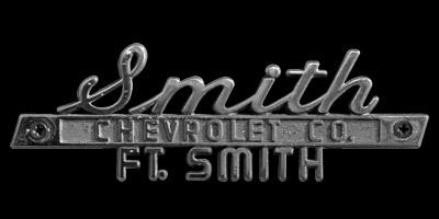 Logo Chevrolet Co. FT. Smith auf Chevrolet Caprice (1966–1970)