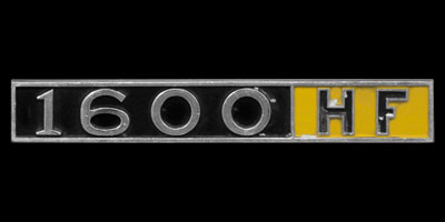 Logo Lancia Fulvia 1600 HF