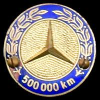 Logo Mercedes-Benz 500.000 km