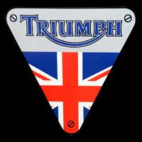 Logo Triumph auf TR7 (1975-1981)