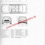 Mercedes-Benz C 420 SEC 500 SEC 560 SEC technische Daten Seite 2
