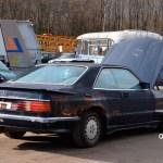 Mercedes-Benz C126 500 SEC AMG V8 Wide-Body Seitenansicht
