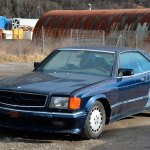 Mercedes-Benz C126 500 SEC AMG V8 Wide-Body in blau metallic