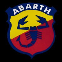 Logo Abarth Aufkleber Button