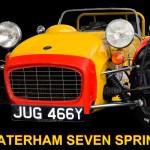 Caterham 7 Sprint Poster