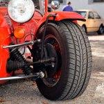 Caterham Super Seven Sprint Radaufhängung mit Scheibenbremsen vorne