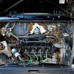 Mini 1000 Super Motorraum mit 998 ccm und 29,5 kW (40 PS) bei 4750/min