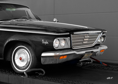 1964 Chrysler Newport Poster in black