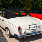 Mercedes-Benz 220 SE Cabriolet Baumuster 128.030 (10.1958-11.1960) rear view