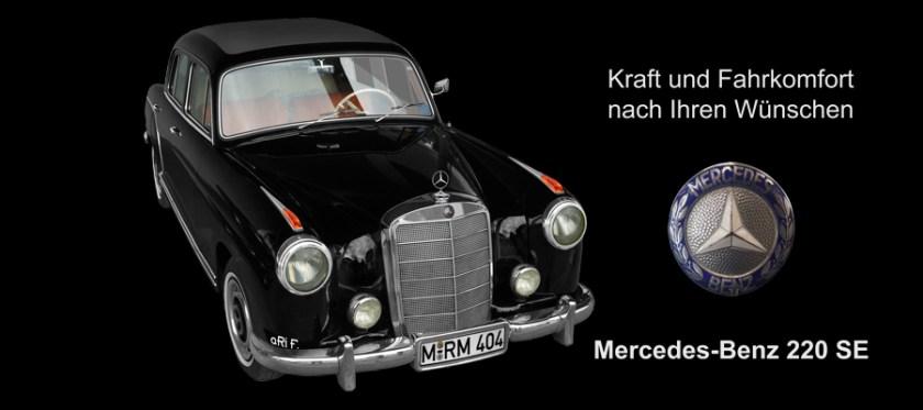 Mercedes-Benz W 128 220 SE Poster